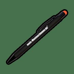 Kugelschreiber mit Touchpen (schwarz)